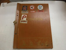 Old Scrapbook With Stickers Bumper Stickers Expos Seals Scorpions jh