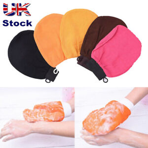 Moroccan Bath Scrub Glove Hammam Exfoliating Body Facial Tan Massage Mitt