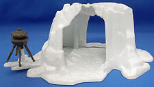 Star Wars Micro Collection Hoth Wampa Cave Playset Loose Complete C9
