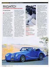 2006 Morgan Aero 8 Series III Classic Print Article A16-J070813