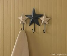 Blackstone Triple Star Wall Hook by Park Designs