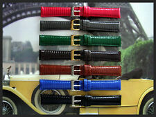 18mm Green Genuine Lizard Quick Release watch band strap IW SUISSE 16 17 19 20