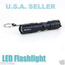 USA SELLER 3 WATT 1AA LED FLASHLIGHT TORCH SUPER BRIGHT LAMP LIGHT ALUMINUM NEW