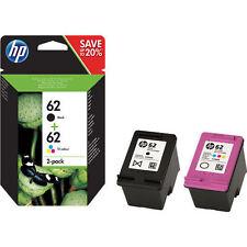 Original HP 62 Black & Colour Ink Cartridge For ENVY 5540 Inkjet Printer
