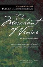 The Merchant of Venice (Folger Shakespeare Library) Shakespeare, William Mass M