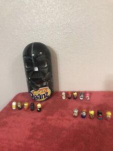 Star Wars Mighty Beanz 15  BEANZ Some Rares & Darth Vader Case FREE SHIPPING