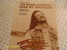 Travis Tritt No More Looking Over My Shoulder 1998 Photo Sheet Music