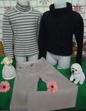 vêtements occasion fille 8 ans,pull,sous-pull,pantalon ORCHESTRA