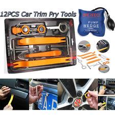12pc Removal panel car Audio Tools Kit +Air Pump wedge for Dash Door Radio Trim