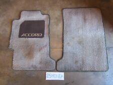 1990-1993 Honda Accord EX Optional Floor Mats Light Brown Rare OEM JDM CB9 CB7