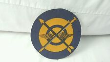 USAF 55th Bomb Squadron Color Shell Oil War Stamp Patch 2 1/2 x 2 1/2 inches