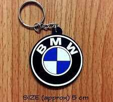 BMW Rubber Keychain Motor Sport Keyring Motorcycles Car Logo Racing Gift New