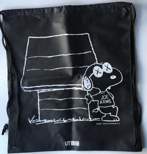 Peanuts Snoopy KAWS X Tote Bag Brand New