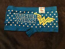 Wonder Woman Boy Short Underwear NWT Sz L Free Shipping Seamless