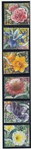 New Zealand: 2001 Garden Flowers set of 6 stamps. Scarce & Cheap