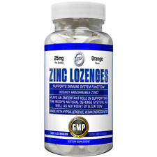 Chewable Hi Tech Zinc Lozenges 25mg - 50mg 100 Tablets Orange Flavor IMMUNITY