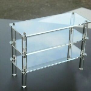 Acrylic Display Shelf Stand Counter Retail Riser Action Figure Cosmetics Plinth