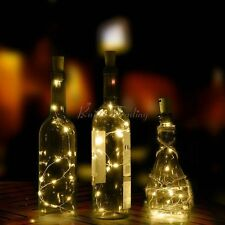 1.5M 20 LED Cork Shaped String Fairy Night Light Wine Bottle Lamp Battery