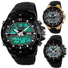 Wasserdicht Armbanduhr LED Digitaluhr Silikon Uhr Herren Damen Kinder Sportuhr