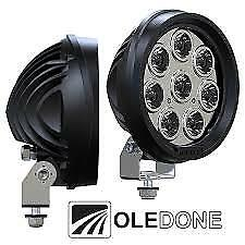 Oledone WD-8L80 Led Light Flood 80W 7200 Lumens Volvo Mack Freightliner