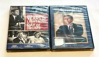 John F. Kennedy: Years Of Lightning, Day Of Drums & JFK Remembered DVD NEW