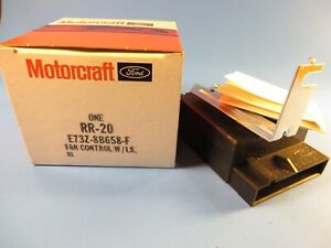 Motorcraft RR20 Fan Control