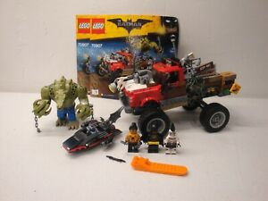 LEGO BATMAN MOVIE 70907 KILLER CROC TAIL GATOR AS IS