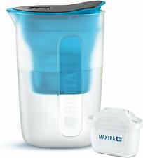 Carafe Filtrante BRITA Fun 1,5L + 1 Filtre Cartouche MAXTRA+ incluse Eau Purifié