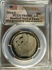 2014-P PCGS PR69DCAM Baseball DALE MURPHY MVP 82 83 $1 FS