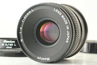 【MINT w/ Hood】 Mamiya N 80mm F/4 L MF Standard Lens For Mamiya 7 From JAPAN #838