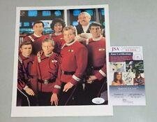 Star Trek Walter Koenig Nichelle Nichols Signed 8x10 Photo Autograph JSA COA 94