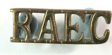 WW2 Royal Army Education Corps shoulder title Genuine