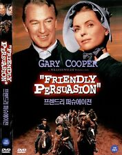 FRIENDLY PERSUASION (1956) Gary Cooper REGION 2 UK COMPATIBLE Imported DVD