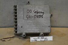 Sebring TCM transmission computer P04606579AB 1999-2000 Dodge Avenger