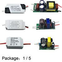 1W-36W LED Driver Adapter Bare Board Constant Current Input 300mA AC-DC