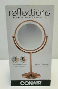 Conair Reflections Double-Sided LED Lighted Vanity Makeup Mirror - NEW IN BOX