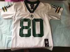 Green Bay Packers #80 Donald Driver Jersey size Youth Small 8 White / Green