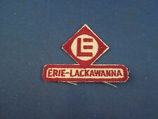Loose Erie-Lackawanna Railway LE Train Sew On Patch