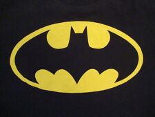 Batman Batsignal Bat-Signal Superhero Comics Books Movie Cape and T Shirt L