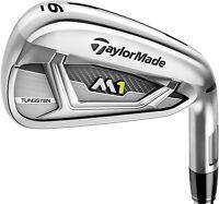 NEW Taylormade M1 Iron Set Irons 4-AW Reg Flex LH XP95 R300 2017 Golf CLUB Set