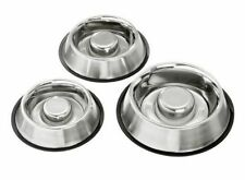 Karlie Stainless Steel Dog Dishes & Feeders