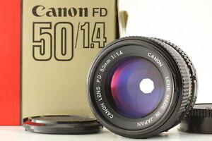 [Near MINT in Box] Canon New FD NFD 50mm f/1.4 MF Standard Prime Lens From JAPAN
