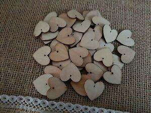 20x Wooden heart shapes Laser Cut MDF. Blank Embellishments Craft 20mm