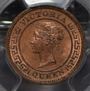 Ceylon 1901 1/4 Cent PCGS MS63RB PC0841 combine shipping
