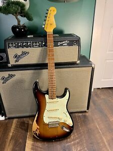 Relic Sunburst Stratocaster / Partscaster / Strat / 1960s style