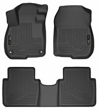 Husky Liners WeatherBeater Floor Mats - 3pc - 99401 - Honda CR-V 17-18- Black