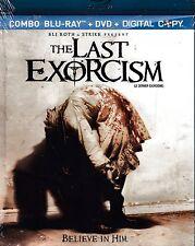 NEW BLU-RAY-DVD COMBO  // The Last Exorcism // Patrick Fabian, Ashley Bell,