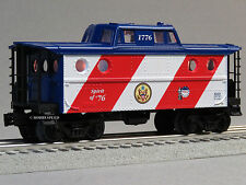LIONEL SPIRIT OF 76 CABOOSE THE PATRIOT 1776 o gauge train freight 6-82427 C NEW