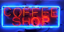 "New Coffee Shop Open Beer Wall Decor Light Neon Sign 24""x20"""