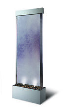 Stainless Steel Water Wall with Clear Glass Panel 1.83 Meter High Just Landed